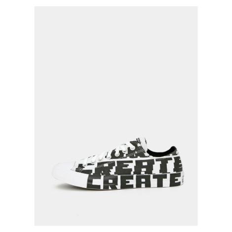 Černo-bílé pánské tenisky Converse
