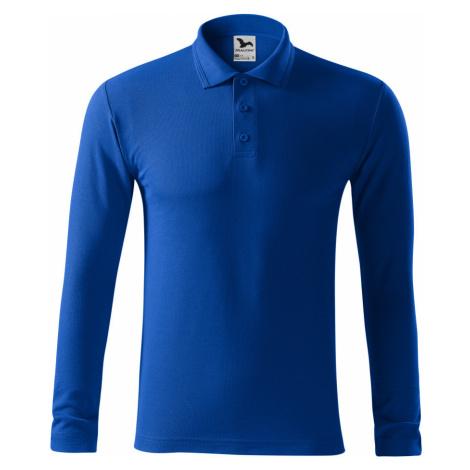 Malfini Pique Polo LS Pánská polokošile 22105 královská modrá