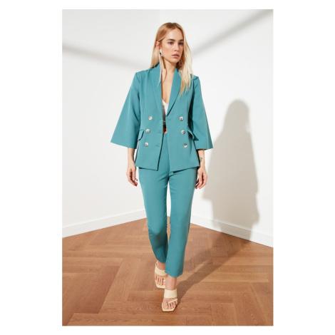 Trendyol Green Button Blazer