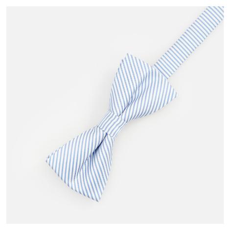 Reserved - Motýlek ze strukturované látky - Modrá