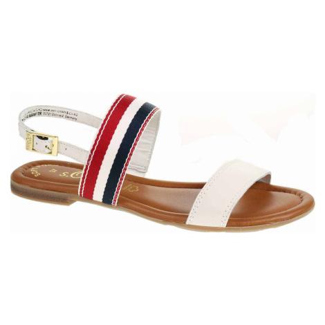 S.Oliver Dámské sandály 5-28111-22 white Bílá