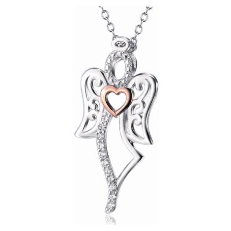 OLIVIE Stříbrný náhrdelník ANDĚL 4216