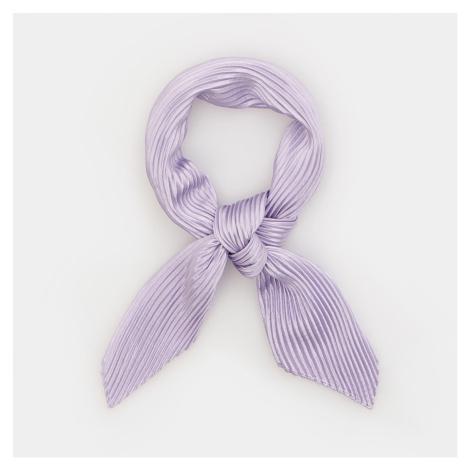 Sinsay - Plisovaný šátek - Fialová