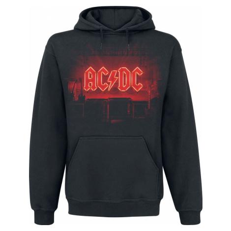 AC/DC PWR UP Mikina s kapucí černá