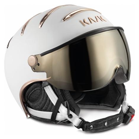Helma Kask Chrome 295 - bílá/zlatá 55 cm