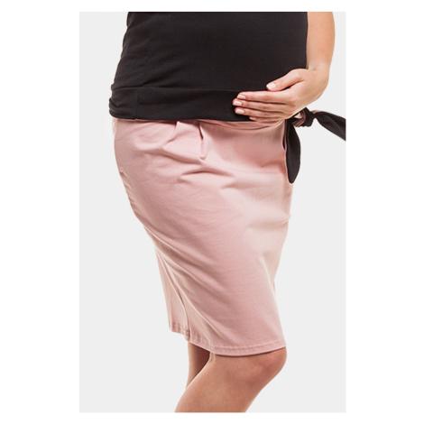 Těhotenská sukně Rita růžová