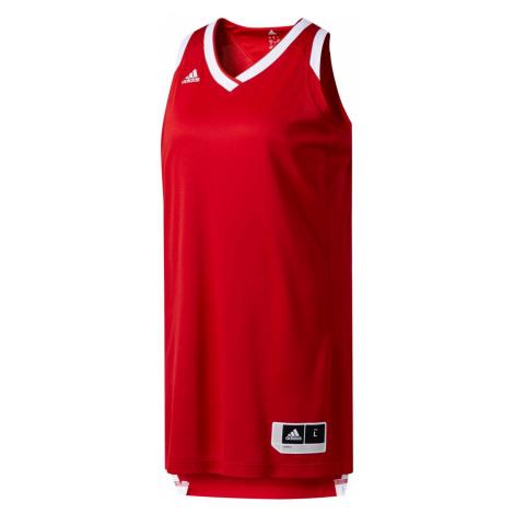 Dámský dres Adidas Performance Červená / Bílá