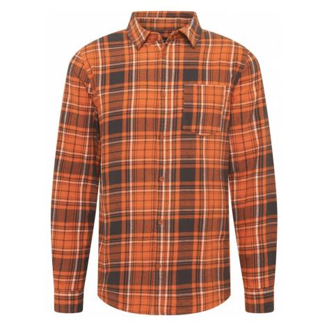 Cotton On Košile oranžová / hnědá / bílá