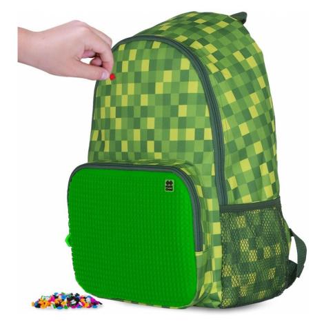 PIXIE CREW volnočasový batoh MINECRAFT zelená kostka