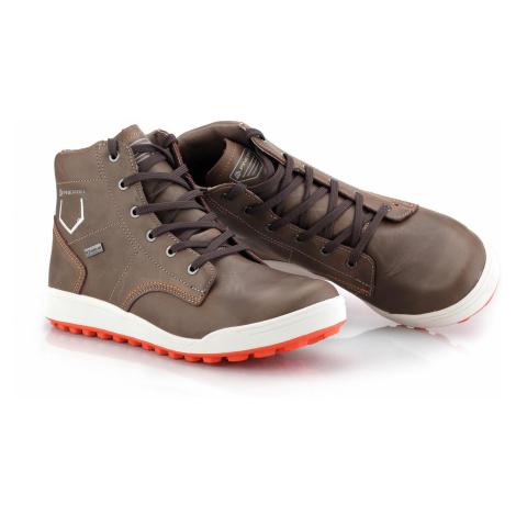 Pánská městská obuv Alpine Pro TILL - hnědá