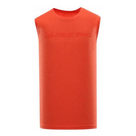 Houdin 2 pánské triko bez rukávu ALPINE PRO
