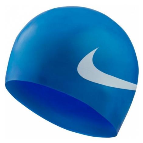 Nike BIG SWOOSH modrá - Plavecká čepice