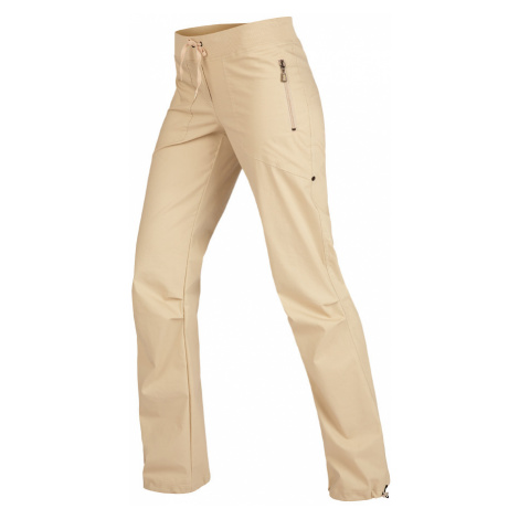LITEX Kalhoty dámské dlouhé bokové. 99570401 béžová