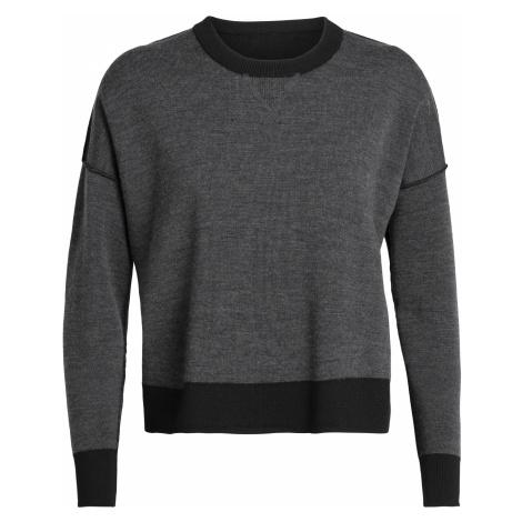 Dámský svetr ICEBREAKER Wmns Carrigan Sweater Sweatshirt, Black Icebreaker Merino