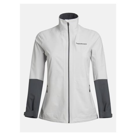 Bunda Peak Performance W Velox Jacket - Bílá