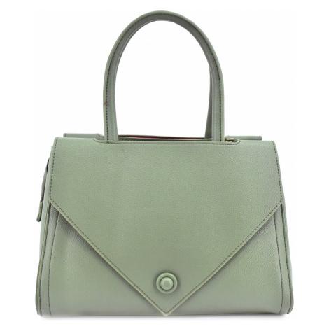 Moderní dámská kabelka - zelená Arteddy