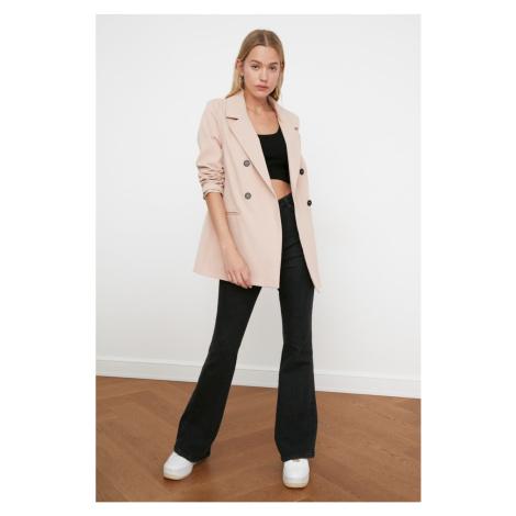 Women's blazer Trendyol Button detailed