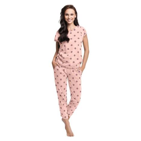 Dámské pyžamo Destiny lososové Luna