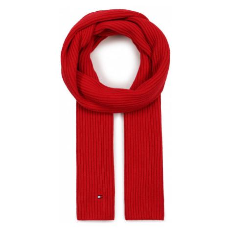 Tommy Hilfiger Tommy Jeans pánská červená šála TJM BASIC FLAG RIB SCARF