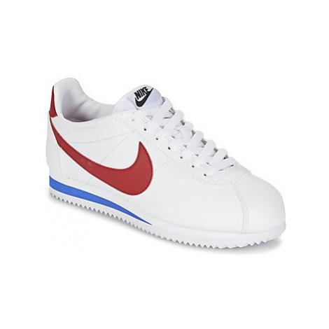 Nike CLASSIC CORTEZ LEATHER W Bílá