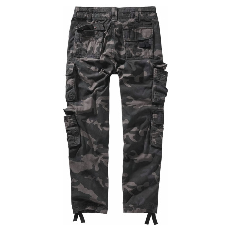 Brandit Kalhoty Pure Vintage II Cargo kalhoty tmavě maskáčová