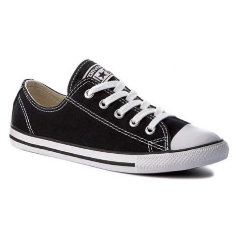 Plátěnky CONVERSE - Ct As Dainty Ox 530054C Black