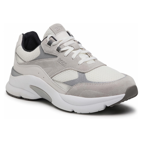 Sneakersy BOSS - Ardical 50446943 10214592 01 White Hugo Boss