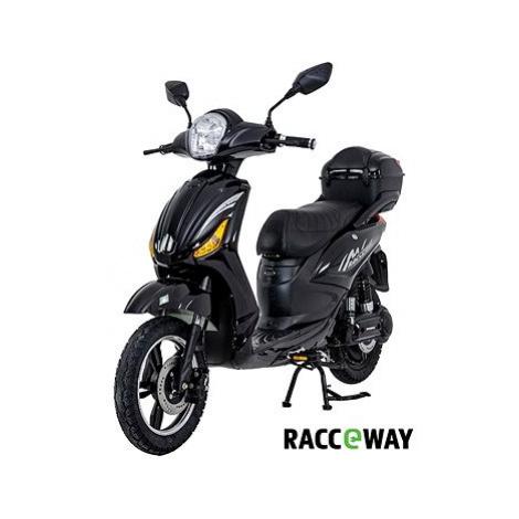 Racceway E-Moped, 12Ah, černý-lesklý