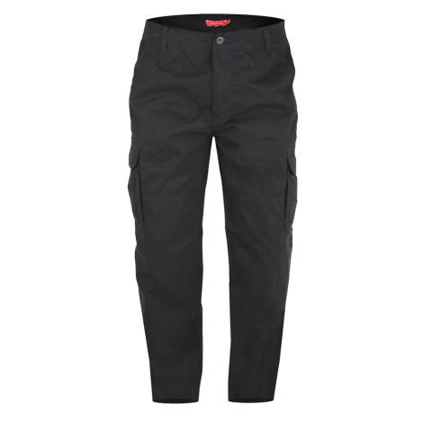 D555 kalhoty pánské ROBERT kapsáče nadměrná velikost Duke