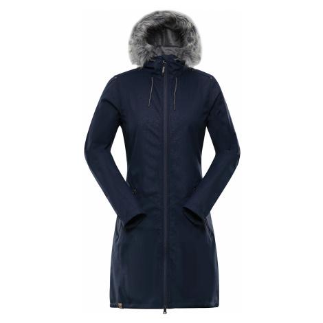 Alpine Pro PRISCILLA 4 INS. MODRÁ / TYRKYSOVĚ MODRÁ Dámský Softshellový Kabát