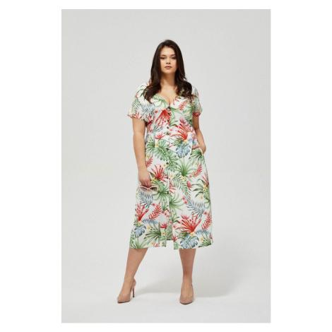 Moodo šaty EGYLYKY dámské, plus size