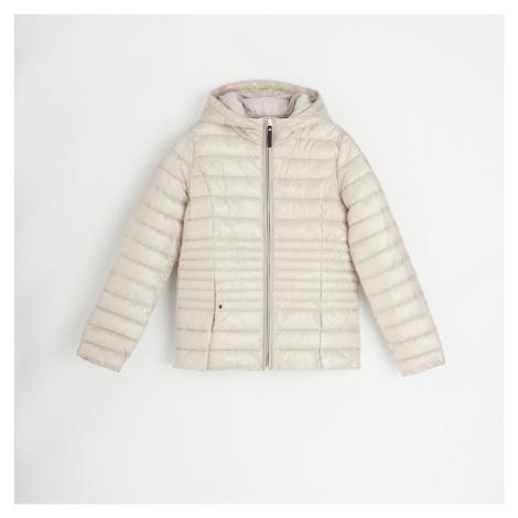 Reserved - Prošívaná bunda s výplní z recyklované látky - Béžová