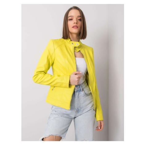 Lemon faux leather biker jacket Fashionhunters