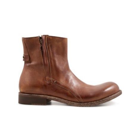 Leonardo Shoes 8402/12 PAPUA WHISKY Béžová