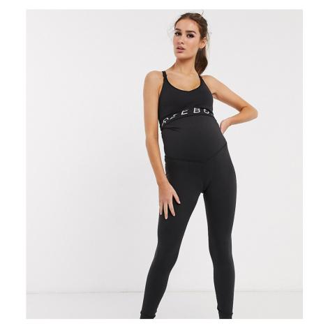 Reebok Training maternity leggings in black