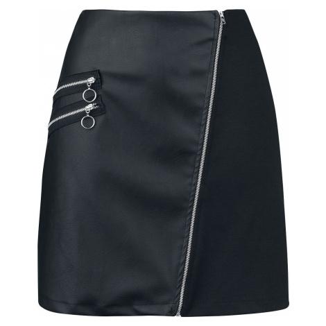 Outer Vision Sukně Madonna Mini sukně černá