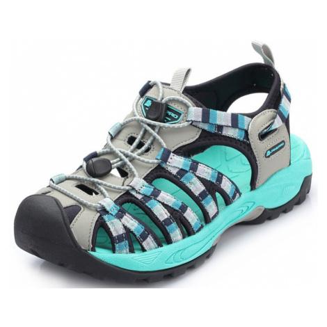 UNI obuv Alpine Pro LANCASTER - tyrkysová