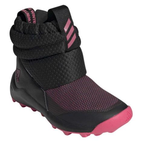 adidas RAPIDASNOW C černá - Dětská zimní obuv