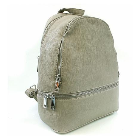Světle šedý dámský elegantní batoh Alagi Mahel