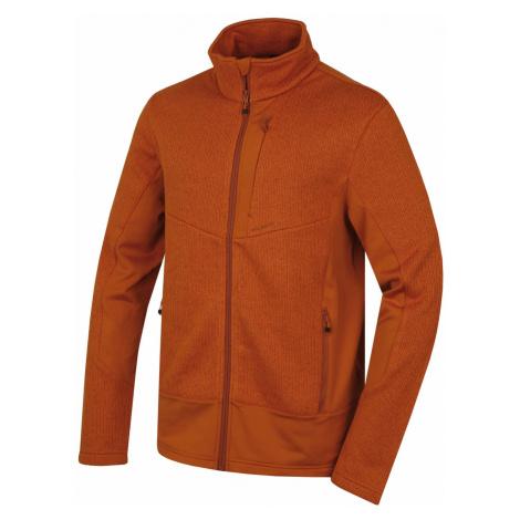Husky Alan M, hněhooranžová Pánský fleecový svetr