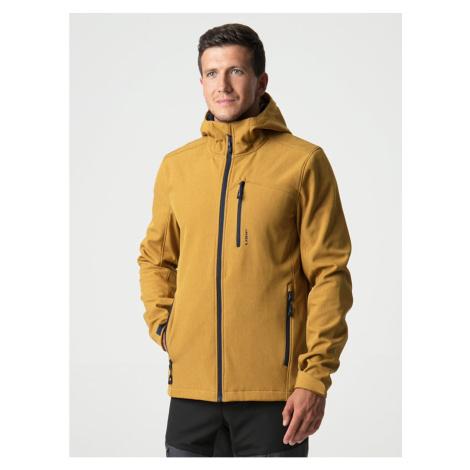 LECAR men's softshell jacket yellow LOAP