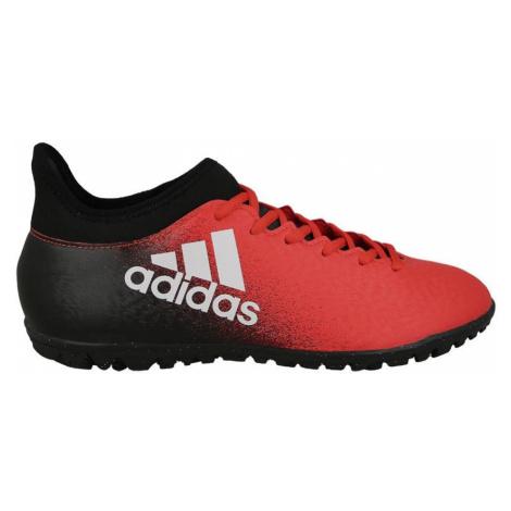 Kopačky Adidas X 16.3 TF Černá / Červená