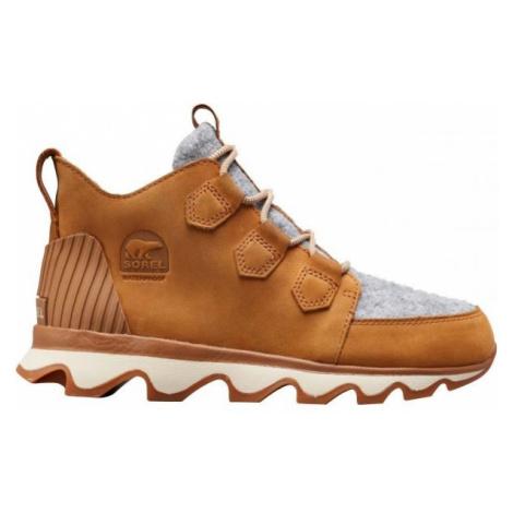 Sorel KINETIC CARIBOU hnědá - Dámská obuv