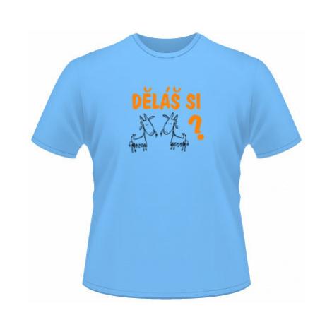 Pánské tričko na tělo Děláš si kozy