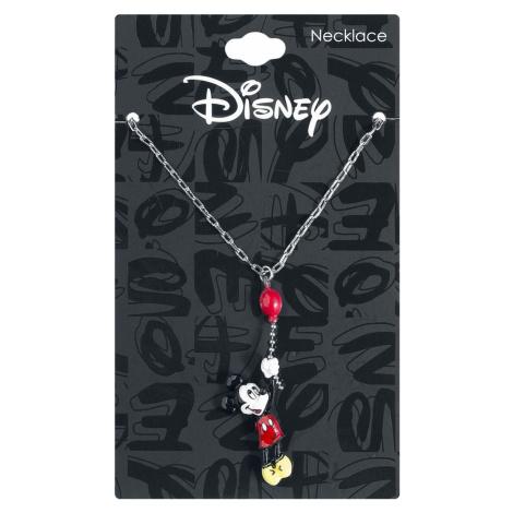 Mickey & Minnie Mouse Mickey's Balloon Náhrdelník - řetízek stríbrná