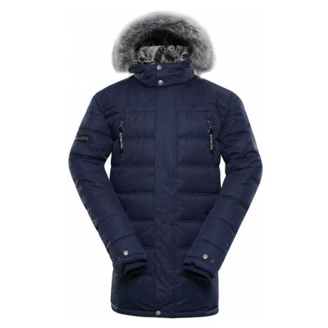 ALPINE PRO ICYB 5 Pánská zimní bunda MJCP361602 mood indigo