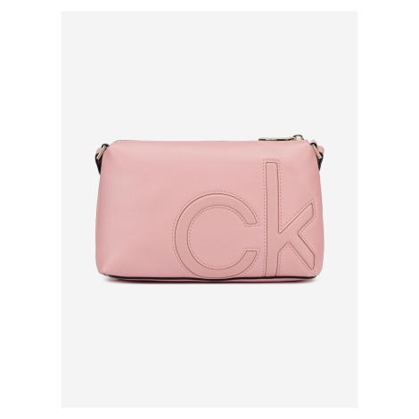 Cross body bag Calvin Klein Růžová