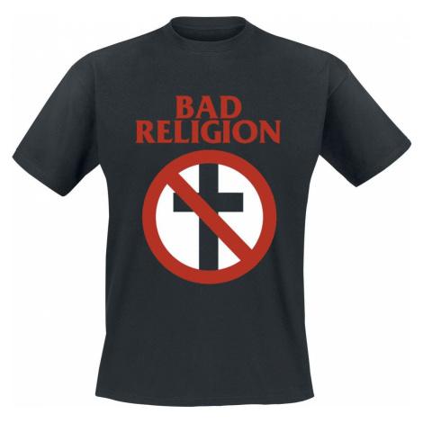 Bad Religion Cross Buster Tričko černá