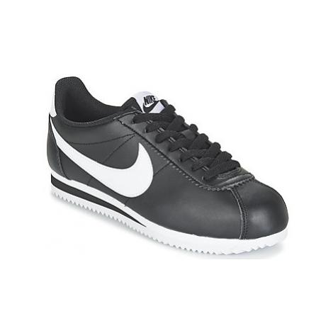 Nike CLASSIC CORTEZ LEATHER W Černá