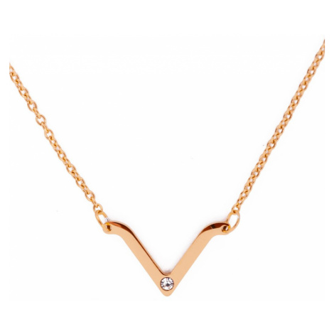 Vuch zlaté náhrdelník Visage Gold